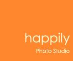 happilyフォトスタジオ ロゴ